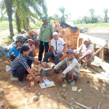 Desa Buko poso Realisasikan DD dalam Bentuk Pembangunan Infrastruktur